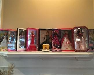 Barbie collection Cont.