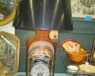 eletric meter lamp