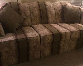 Sofa and Matching Loveseat
