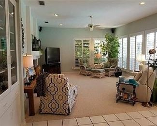 Beautiful home with many things for sale. Not all furniture seen is for sale
