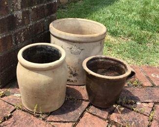 Pottery Planters    https://ctbids.com/#!/description/share/156048