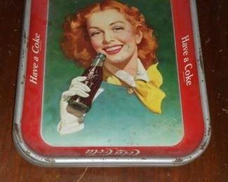 Vintage Coke tray tins