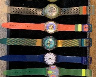 COLLECTIBLE SWATCH WATCHES