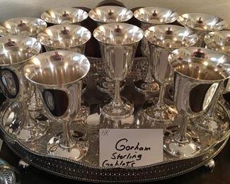 Gorham goblets