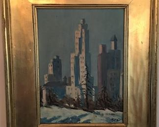 Tate Oil Painting
