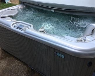 Hot Springs hot tub spa.  $8000 original price. In great condition. Everything works.