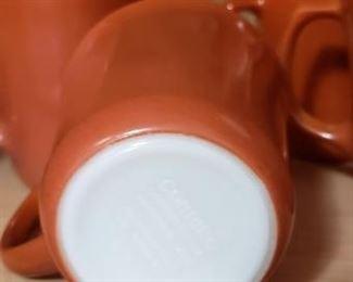 Set of 2 Pyrex coffee mugs