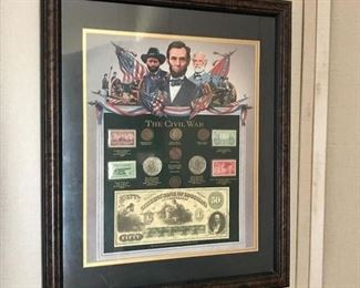 Civil war collectible, Abraham Lincoln