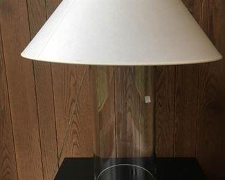 2 Acrylic Lamps