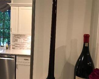 Decorative bottle of chianti
