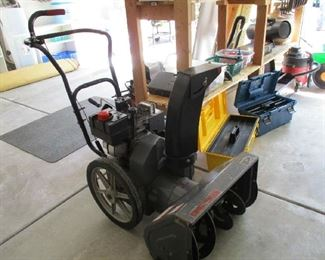 hope we dont need it soon but eventually......craftsman snow blower