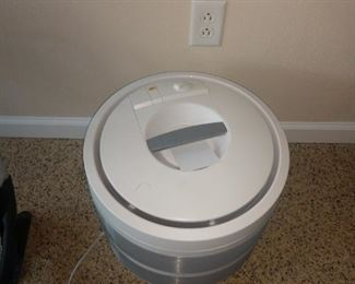 One of two Honeywell Air Purifier