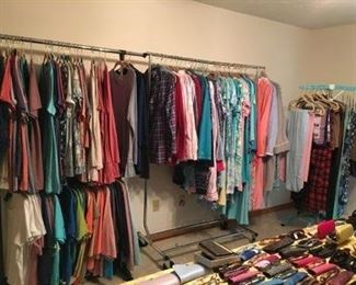 Clothing Size Large to 1X Susan Graver, Sport Savvy, Joan Rivers, Quaker Factory Denim and Co. more