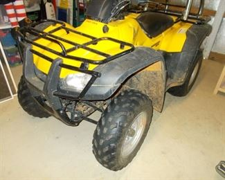 2004 honda 4-wheeler, we have two