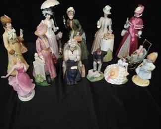 Avon Porcelain Figurines https://ctbids.com/#!/description/share/157690
