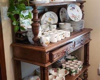 Evesham Dish Set by Royal Worcester