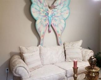 Sergio Bustamante Butterfly Sculpture