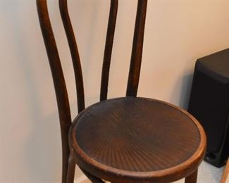 Antique Bent Wood Side Chair