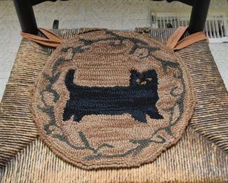 Seat Pad (Black Cat)