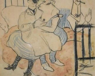 Framed Pablo Picasso Print