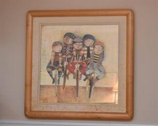 Framed G. Rodo Boulanger Print