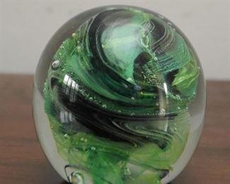 Art Glass Paperweights (Kerry Glass, Ireland)
