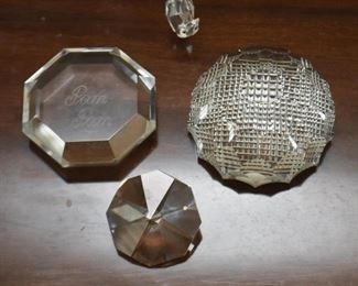 Glass / Crystal Paperweights