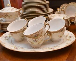 Set of Hand Painted Meito China (Japan)