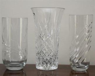 Glassware & Crystal Vases
