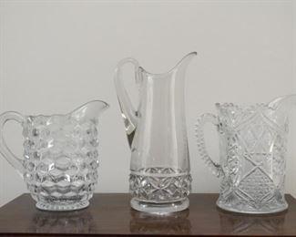 Glassware Pitchers