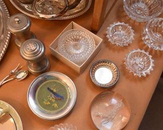 Salt & Pepper, Coasters, Small Glass Bowls, Salt Cellars
