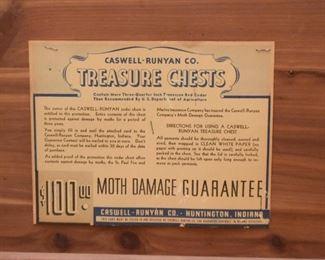 Caswell-Runyan Cedar Trunk / Treasure Chest