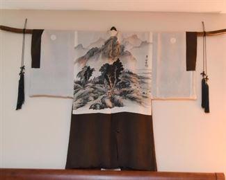 Hand Painted Japanese Haori / Kimono Jacket