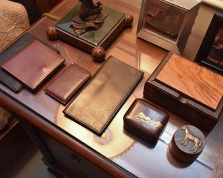 Men's Wallets, Trinket Boxes