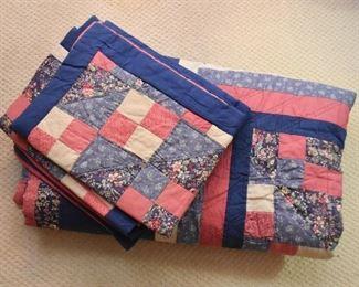 Vintage Quilt & Shams