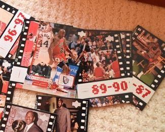Basketball Cards (Michael Jordan)