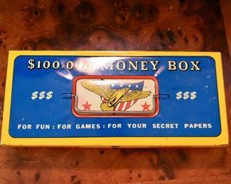Vintage Tin Toy Money Box