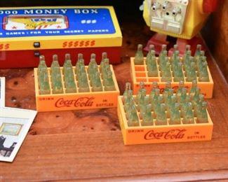 Miniature Toy Coca Cola Bottles