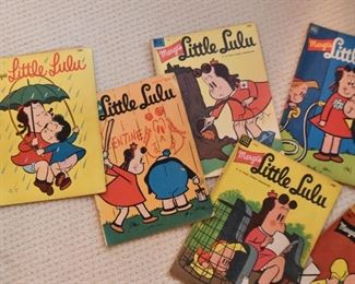 Vintage Comics / Comic Books (Zane Grey, Indian Chief, Lone Ranger, Little Lulu, Etc.)