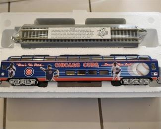 Chicago Cubs World Series Commemorative Train Set (by Hawthorne Village)