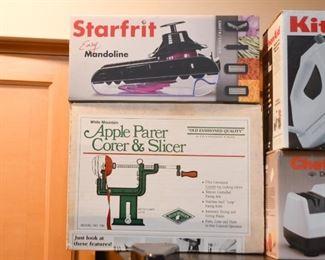 Mandoline, Apple Corer