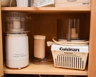 Kenmore & Cuisinart Food Processors
