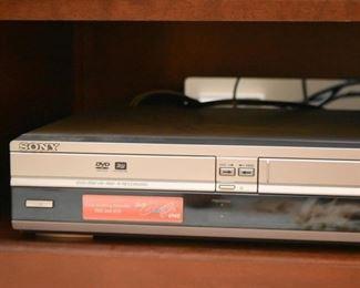 Sony DVD & VHS Player