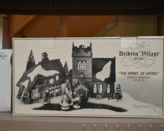 Charles Dickens' Village Christmas Decor
