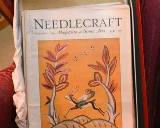Vintage Needlecraft Magazines