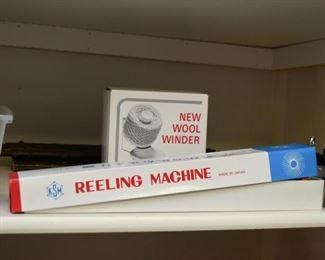 Reeling Machine, Wool Winder