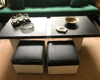 Matching  Extendable Coffee Table