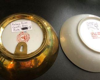 vintage asian ceramic bowls