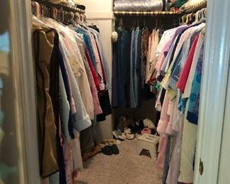 Wow, this is a lot of clothes.