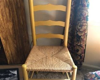 cane seat shaker chair for sitting in corners while being punished